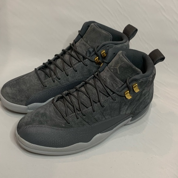new product c48a5 d9a4c MINT Men's Retro Jordan 12 - Wolf Grey